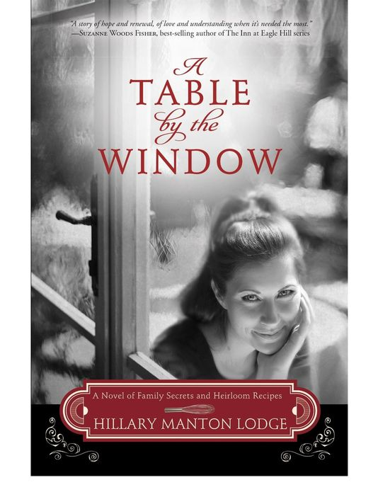 A Table By The Window by Hillary Manton Lodge // book review by thepajamachef.com #cooking #romance #mystery