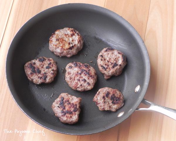 Homemade Turkey Sausage Patties | thepajamachef.com