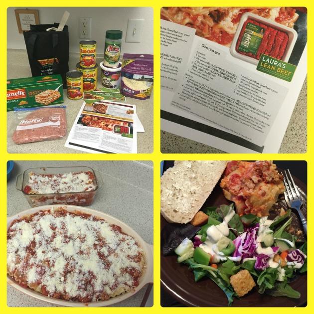 Skinny Lasagna | thepajamachef.com