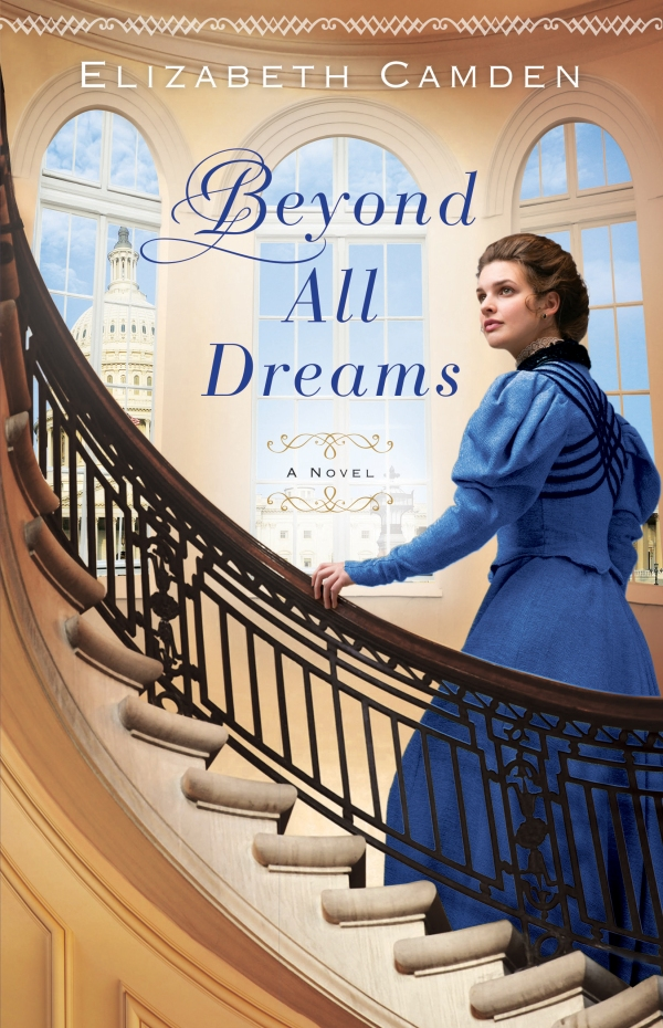 Beyond All Dreams by Elizabeth Camden - a book review on thepajamachef.com #reading #fiction #bookreview