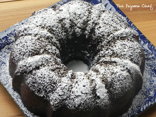 Chocolate Coffee Bundt Cake | thepajamachef.com