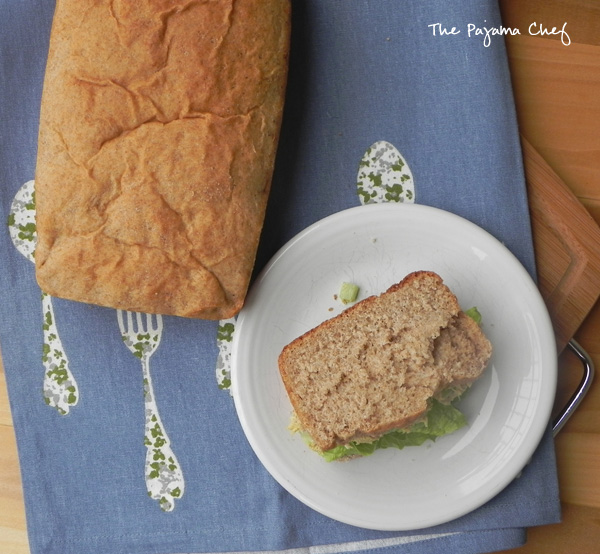 Easy Whole Wheat Bread | thepajamachef.com