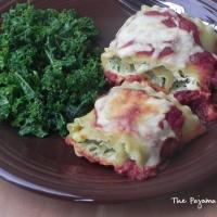 Zucchini and Yellow Squash Lasagna Rollups