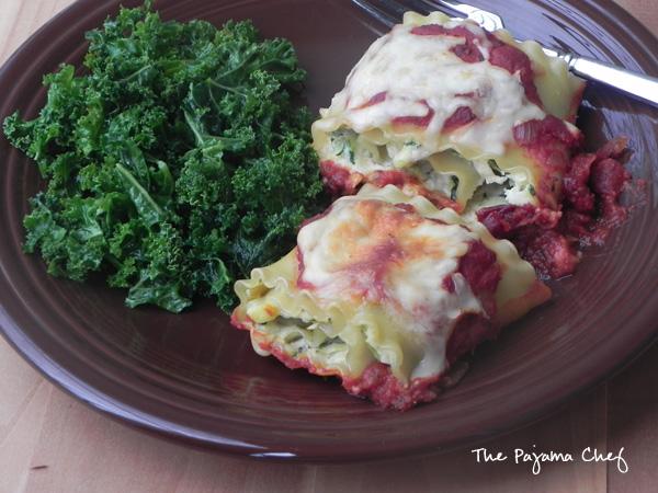 Zucchini and Yellow Squash Lasagna Rollups | thepajamachef.com