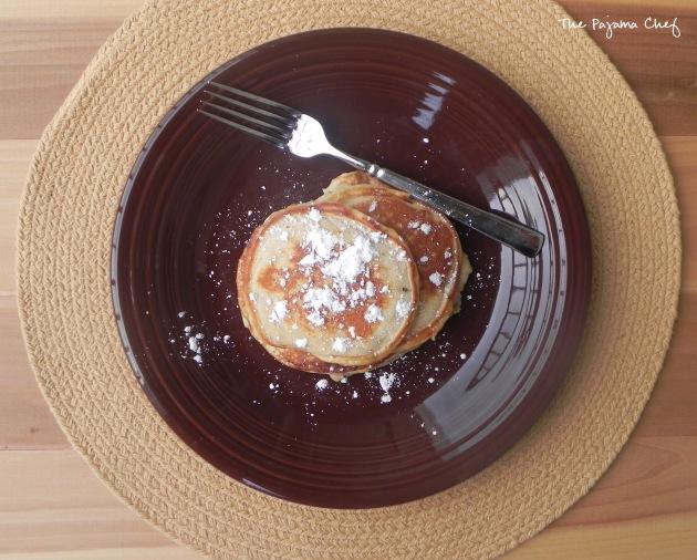 Ricotta Pancakes | thepajamachef.com #breakfast