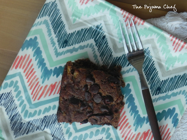 Chocolate Chip Zucchini Cake - a great summer dessert with some chocolate for good measure | thepajamachef.com