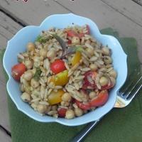 SRC: Dijon Balsamic Orzo Salad