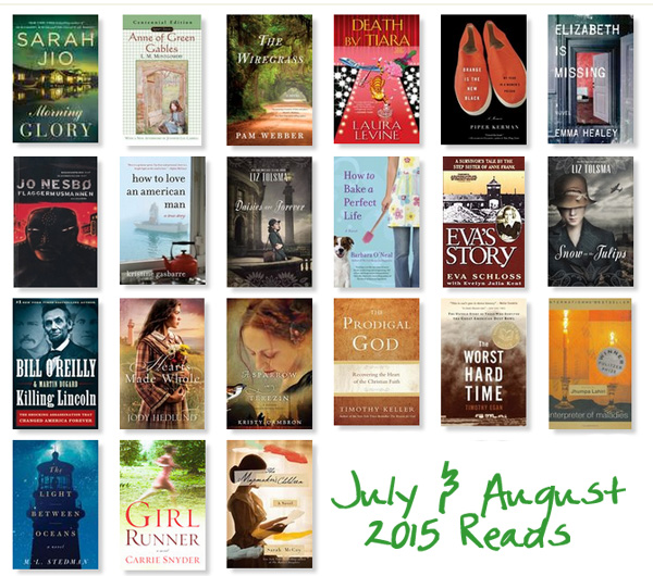 July and August 2015 Readings | What I'm Into | thepajamachef.com