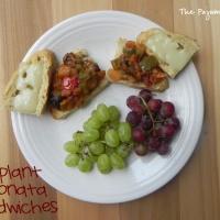 Eggplant Caponata Sandwiches