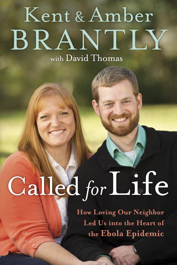 Called for Life by Kent and Amber Brantly, reviewed on thepajamachef.com #books #reading #faith #Liberia