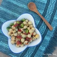 SRC: Tunisian Chickpea Salad