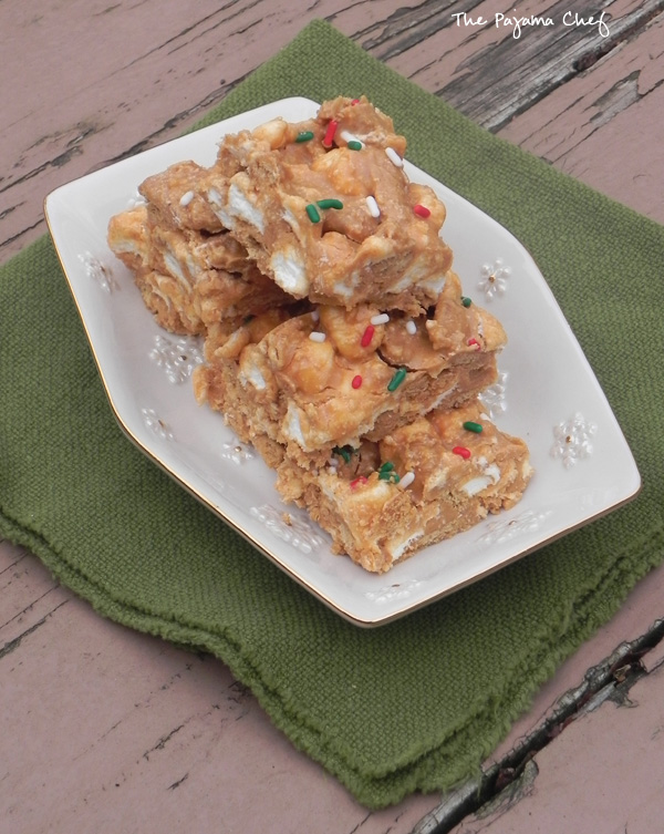 No-Bake Peanut Butter Marshmallow Bars... can't go wrong with these easy, delicious treats!