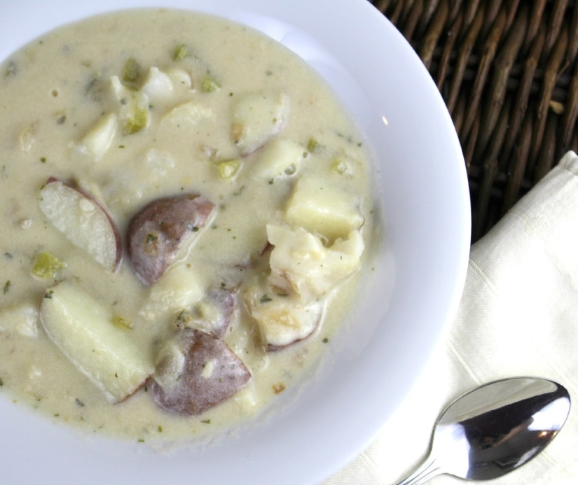 Ashley - Red Potato Chowder with White Fish