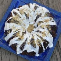 SRC: S'mores Bundt Cake