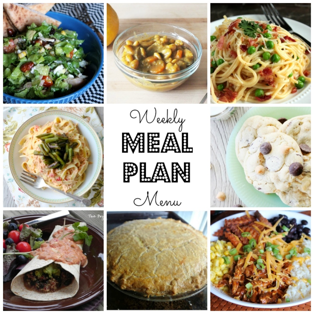 Weekly Meal Plan - check it out on thepajamachef.com!