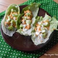 SRC: Buffalo Chicken Lettuce Wraps