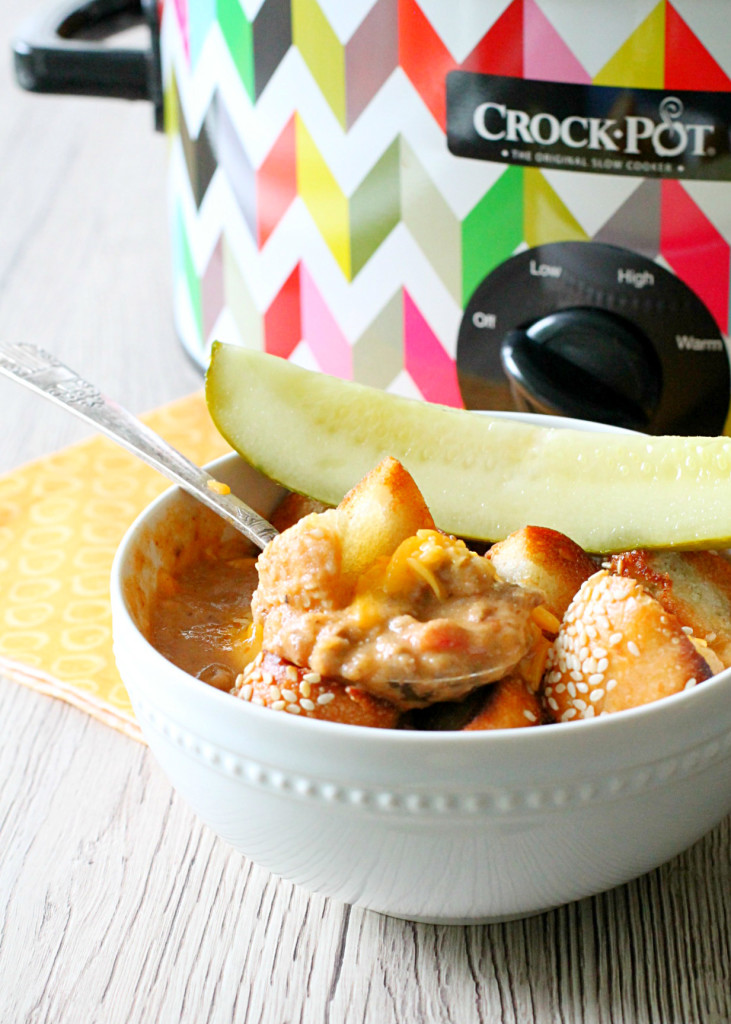 Lots of delicious meal ideas on thepajamachef.com for this week's eats like this Cheeseburger Soup