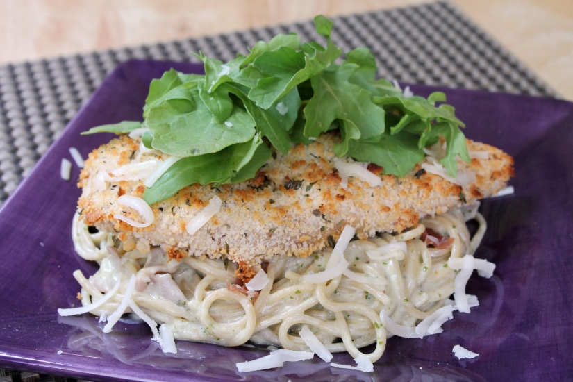Lots of delicious meal ideas on thepajamachef.com for this week's eats like this Lighter Chicken Bellagio