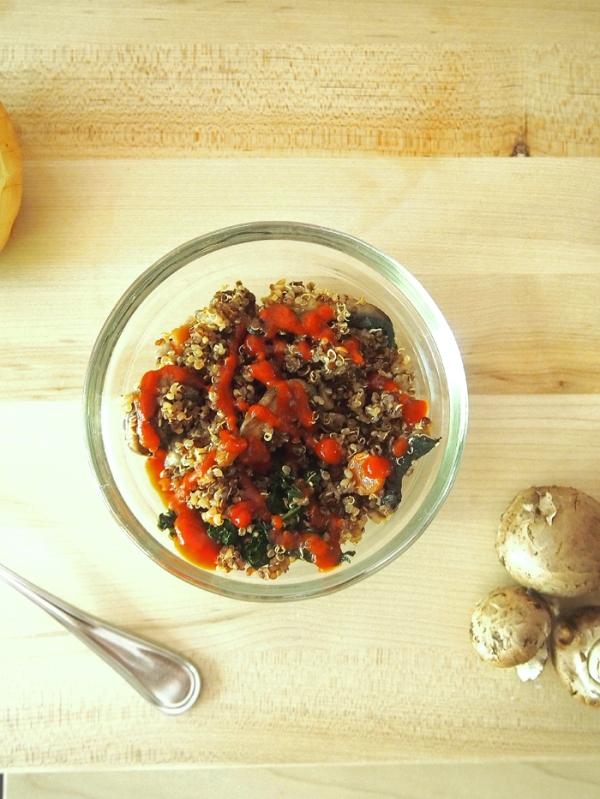 Vegetable Fried Quinoa / Weekly Menu Plan - lots of wonderful family friendly recipes to make your week easier! via thepajamachef.com :) #menuplan #mealplan #recipes #homemade