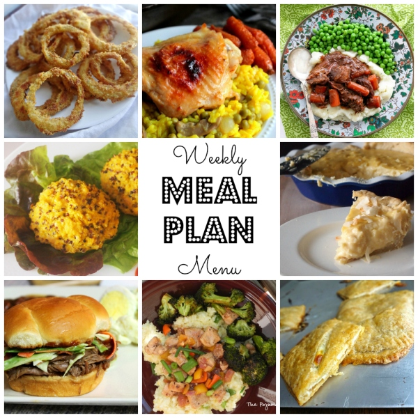 Weekly Menu Plan - great eats, all week long brought to you by some of your favorite bloggers like thepajamachef.com!