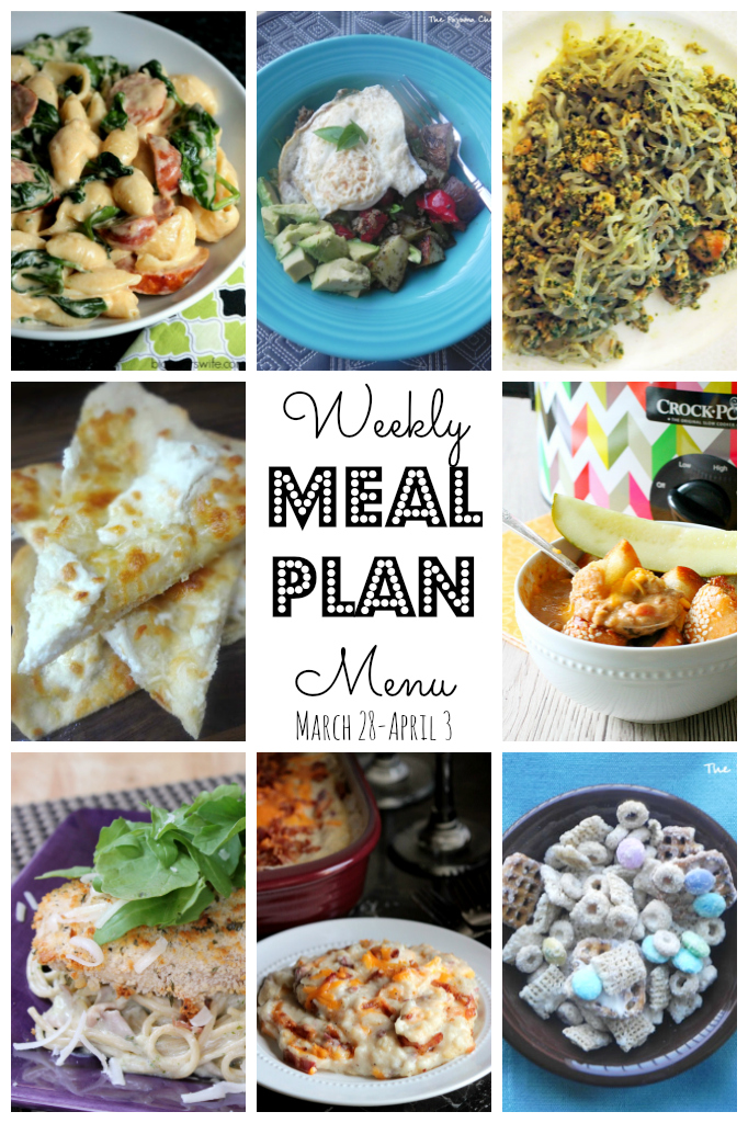 Lots of delicious meal ideas on thepajamachef.com for this week's eats!