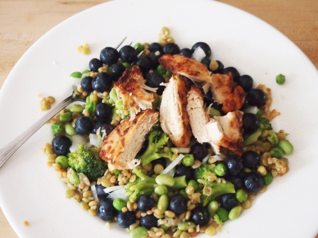 Protein Packed Blueberry Chicken Salad