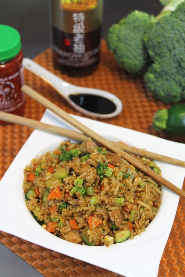 Chinese Fried Rice - The Spiffy Cookie