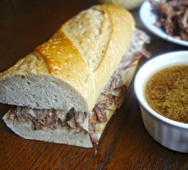 French Dip Sandwiches - The Cooking Actress