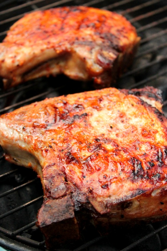 Grilled Pork Chops - Big Bear's Wife