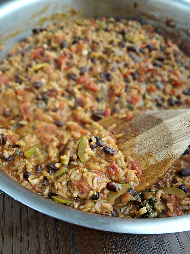 One Pot Mexican Rice Casserole - The Cooking Actress