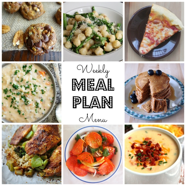 Find lots of great ideas to make your week delicious on this meal plan from thepajamachef.com & other great bloggers!