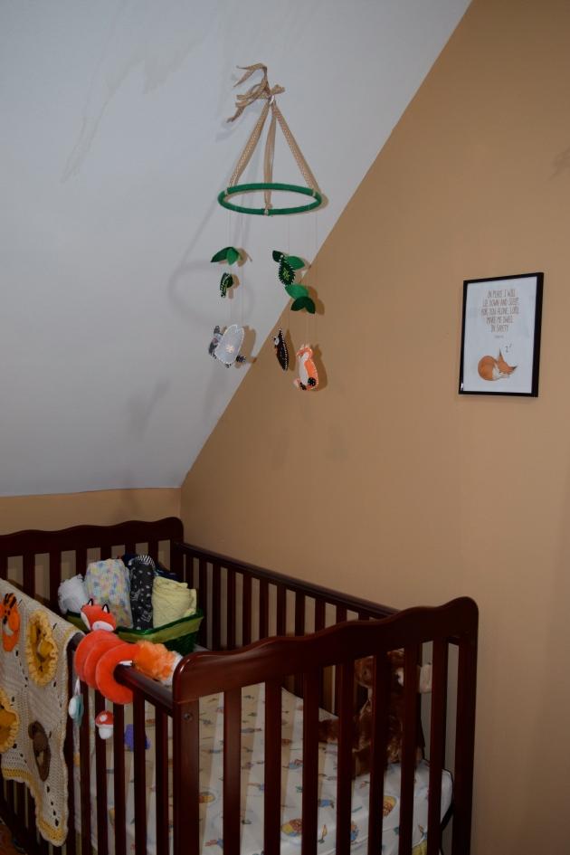 #BabyVolde's nursery via thepajamachef.com