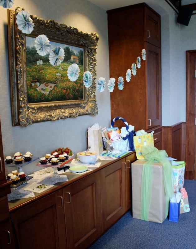 Baby shower via thepajamachef.com