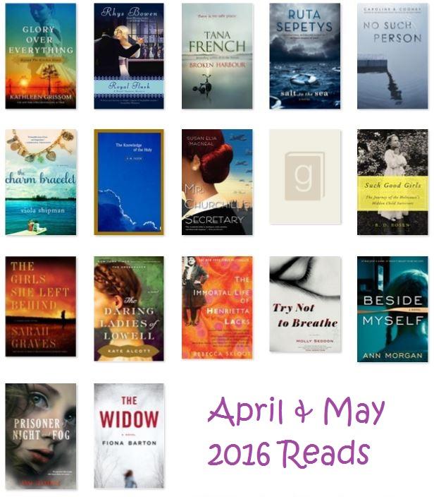 April & May 2016 Reads via thepajamachef.com