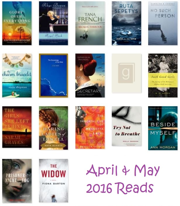 April & May 2016 Reads via thepajamachef.com
