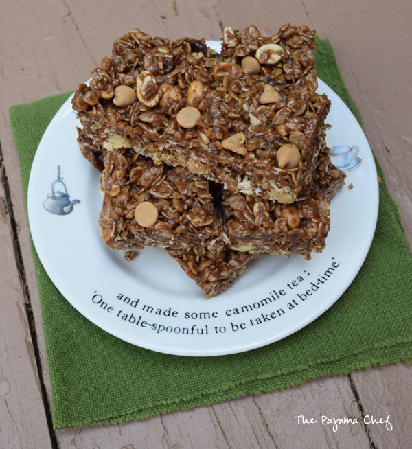 No Bake Chocolate Peanut Butter Granola Bars2