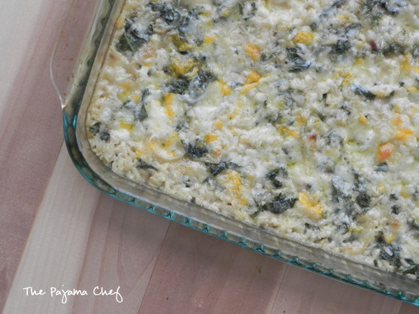 Cozy up to fall with this hearty and cheesy side dish. Kale and Brown Rice Gratin... filling enough for a meatless dinner, but fancy enough for a holiday side dish. The best of both worlds!