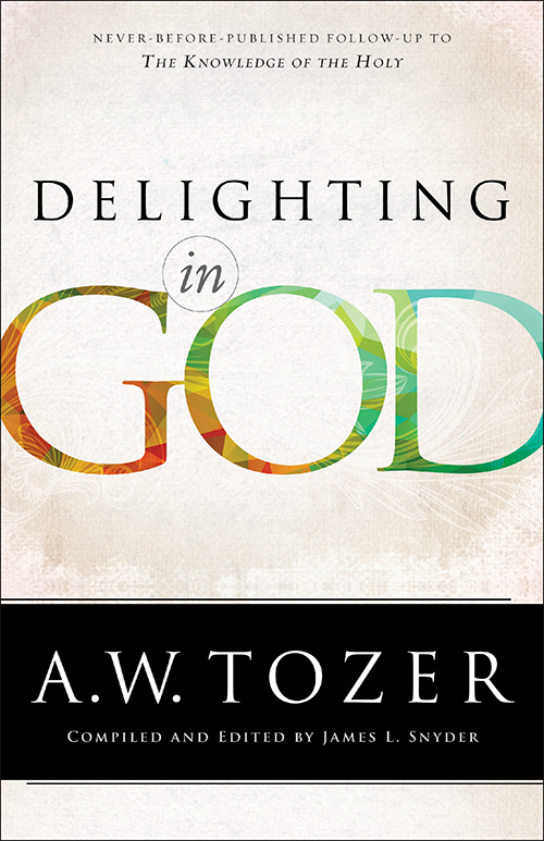 Find out all about A.W. Tozer's Delighting In God. It's the intended follow-up to The Knowledge of the Holy and it's powerful! - a book review on thepajamachef.com