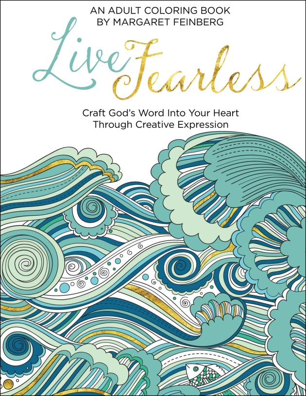 Live Fearless | coloring book review on thepajamachef.com