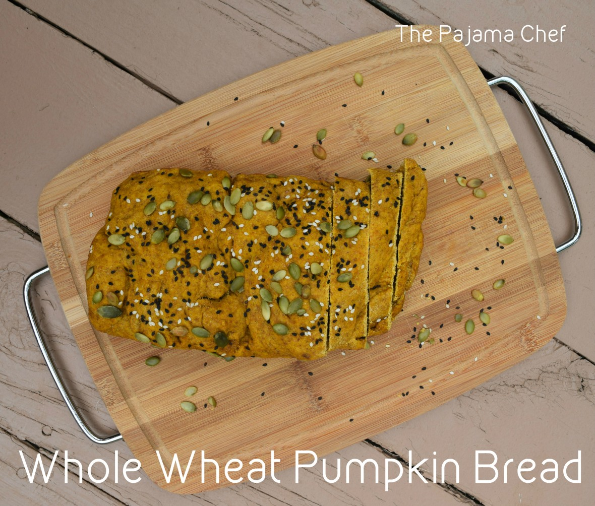Hearty and savory pumpkin bread... this is a recipe you don't want to miss!