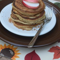 SRC: Apple Cider Pancakes