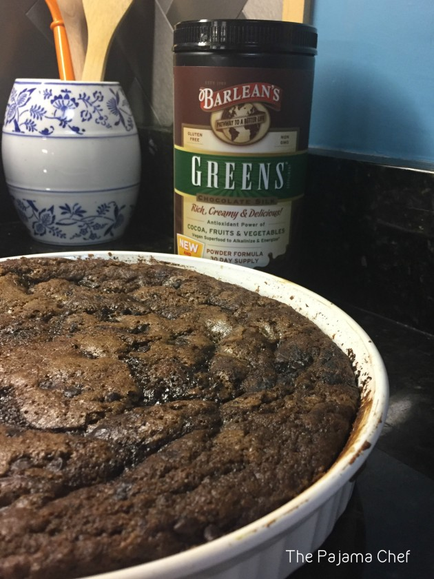 Wonderfully rich, this old-fashioned chocolate cobbler will be your chocolate dessert of choice this winter! It is so easy and so ooey gooey--chocolate lovers won't be able to get enough!! Thank you to Barlean's for providing the product used in this recipe! All opinions are my own. #sponsored #Choctoberfest