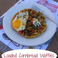 SRC: Loaded Cornbread Waffles