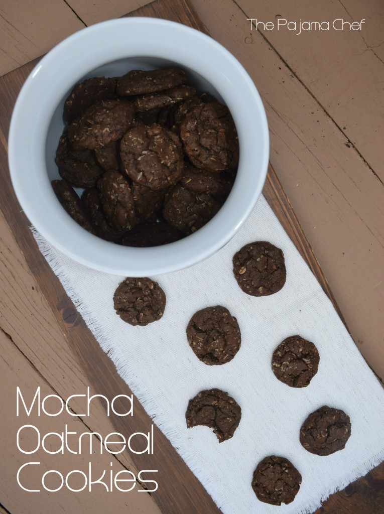 Mocha Oatmeal Cookies.. rich chocolate, hearty oats, a little coffee flavor... everyone will love these!