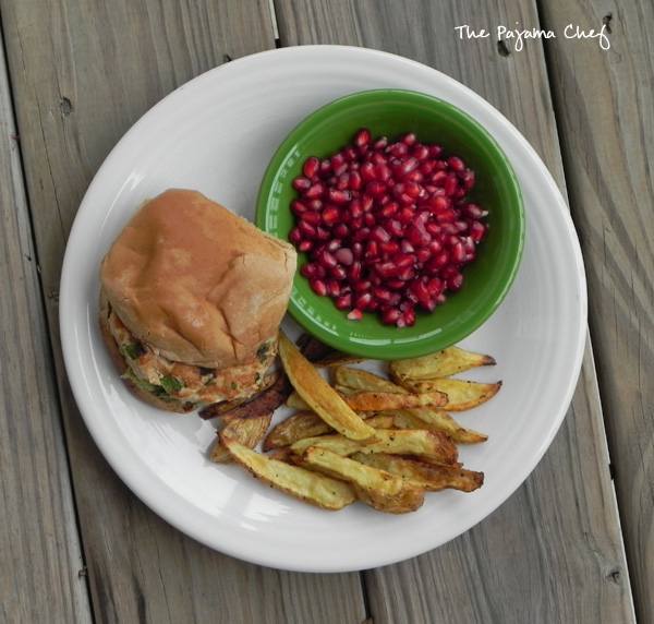 A copycat version of a Trader Joe's fave... chicken burgers spiced up with chili, lime, cilantro, and garlic. This is an epic burger you don't wanna miss!