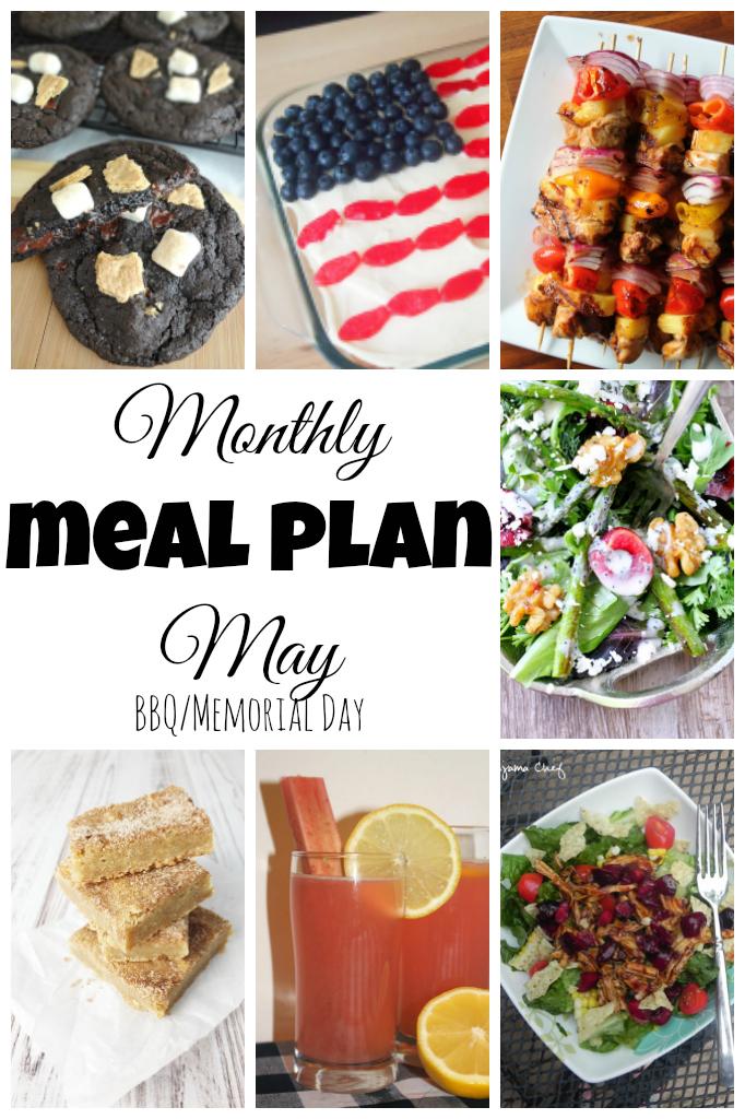 May Menu Plan: BBQ Style