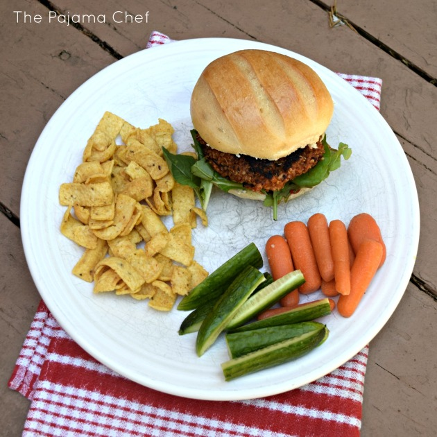 The BEST black bean burgers you will ever have! Promise. These burgers are a great addition to your next cookout... even if you aren't a vegetarian. (And let me say... your vegetarian friends will love you for having these on hand too!) #CookoutWeek 2017