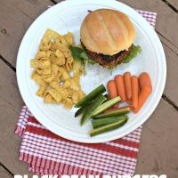 Black Bean Burgers #CookoutWeek