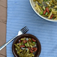 Mom's Three Bean Salad #CookoutWeek