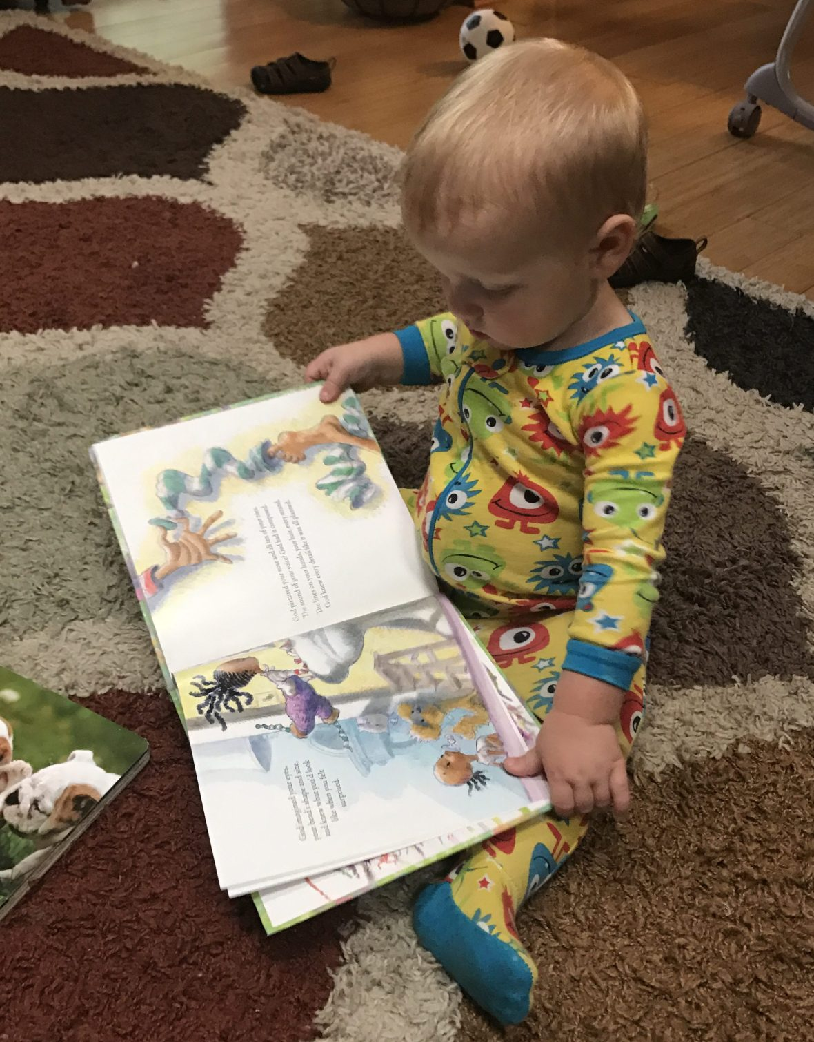 When God Made You - a book review on thepajamachef.com #bloggingforbooks #bookreview